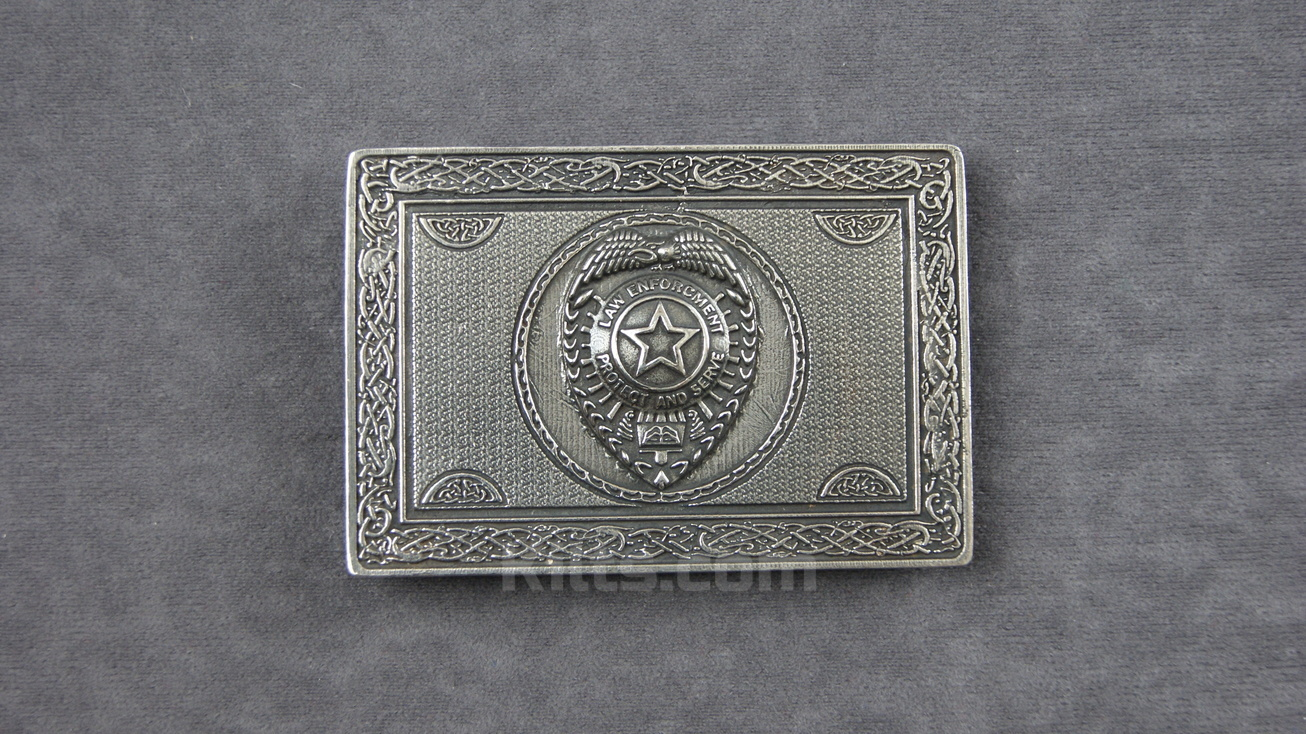 View our Law Enforcement Kilt Belt Buckle for sale.
