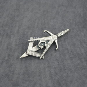 Masonic Cap Badge - Masonic Brooch - Kilts com