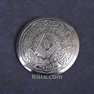 Here is our fantastic Masonic Sunburst Plaid Brooch for Kilt Fly Plaids and Sashes.