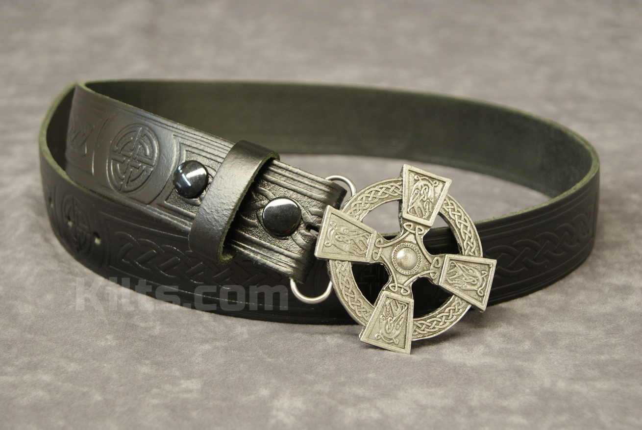 "Check out our Open Cross Buckle and 1.5"" Belt Combo for sale."