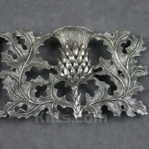 Have a look at our Pierced Thistle Kilt Belt Buckle that is for sale.