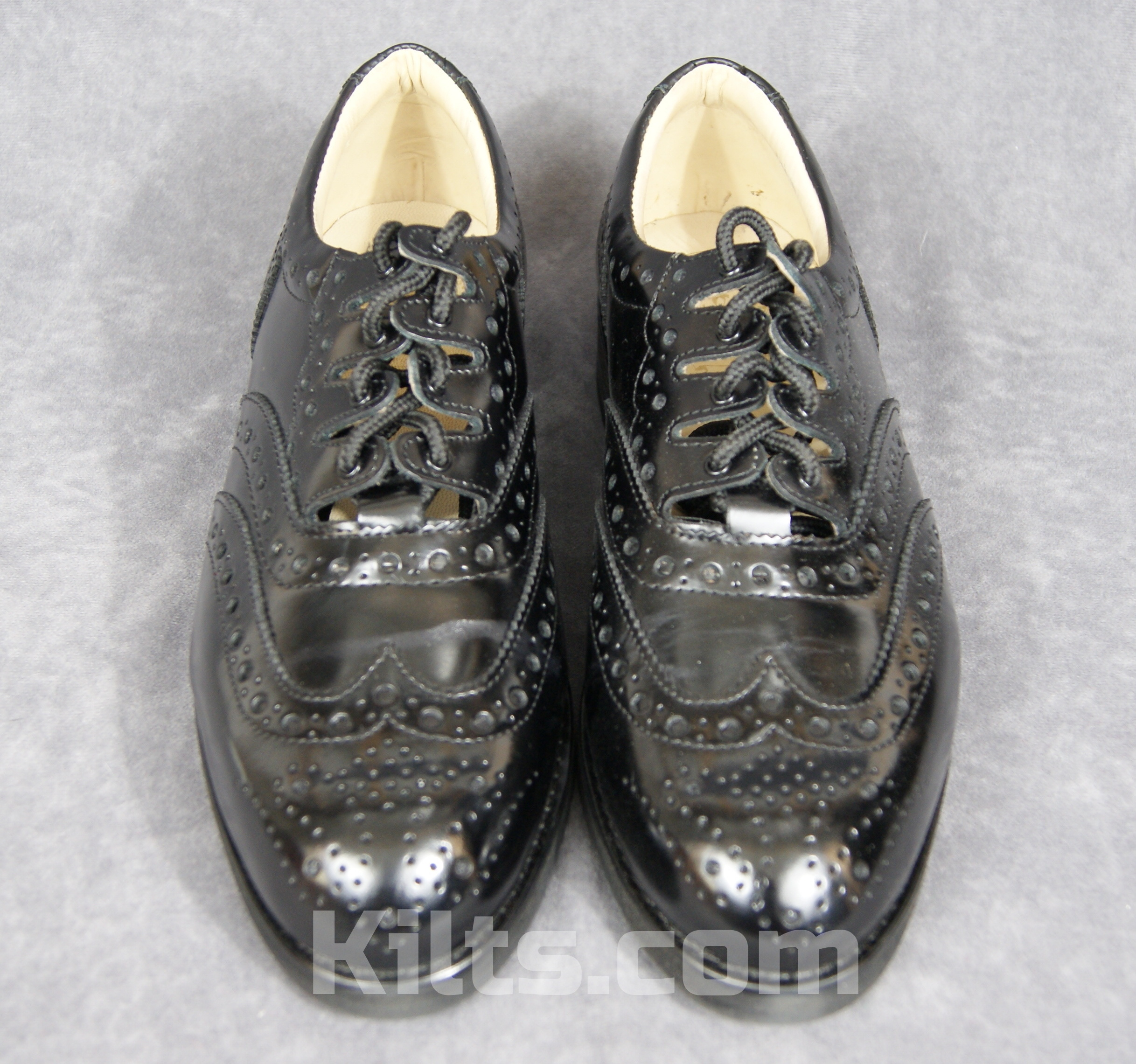 Check out our Pipers Ghillie Kilt Shoes