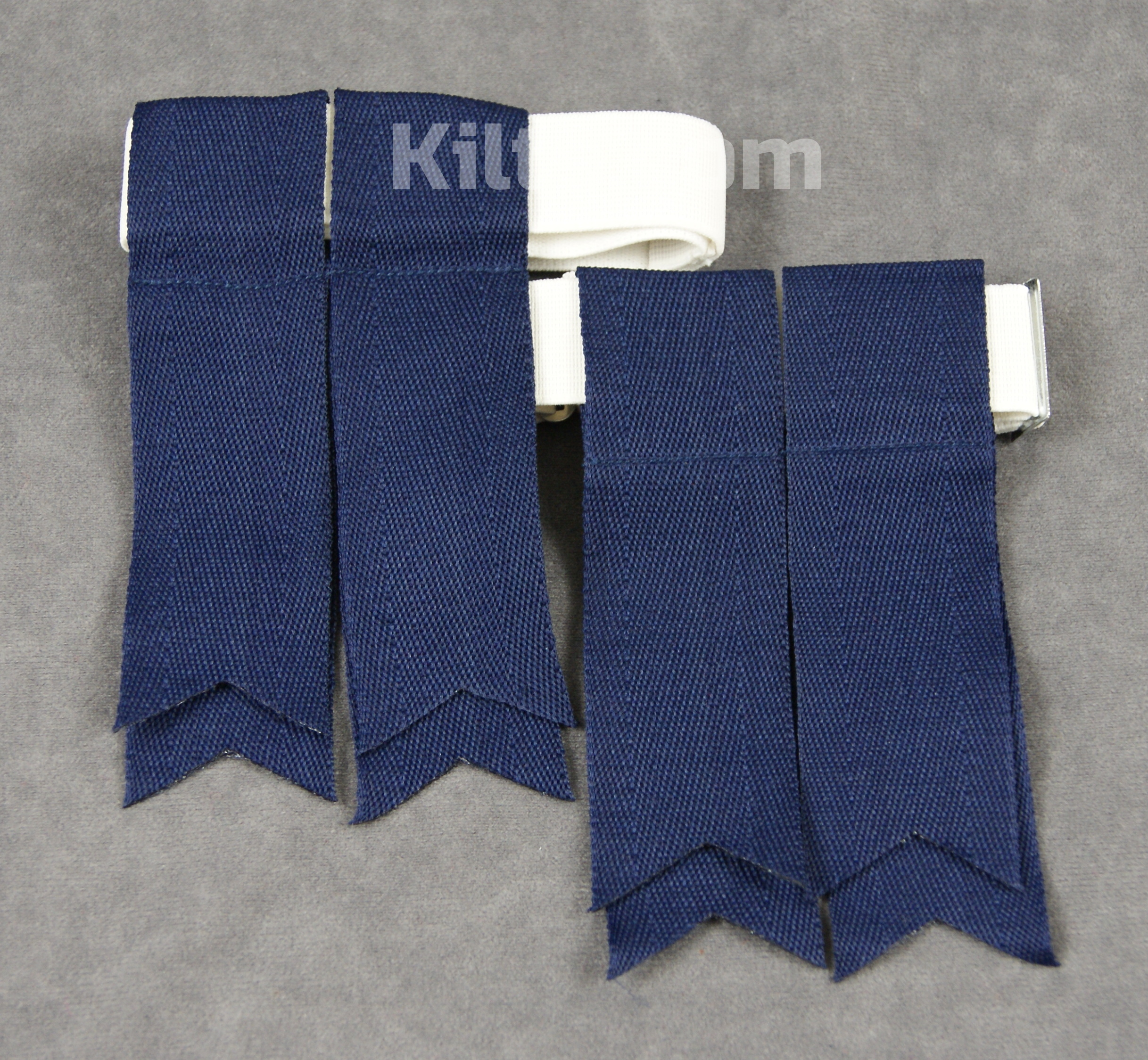 Check out our Premium Flashes for Kilt Socks for Sale in Navy.