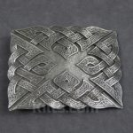 Here is our Raised Celtic Knot Kilt Belt Buckle for sale.