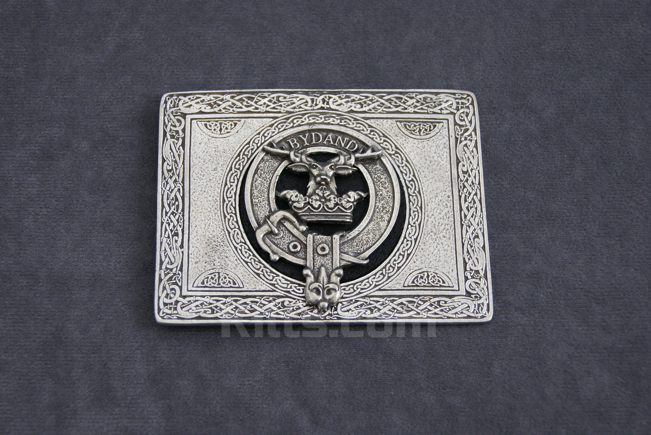 Have a look at our Scottish Clan Crest Kilt Belt Buckle for sale.