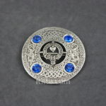 Check out our Scottish Clan Crest Plaid Brooch for Fly Plaids and Sashes.