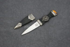 Check out our Scottish Clan Crest Sgian Dubh for sale. The perfect Scottish Kilt Knife.