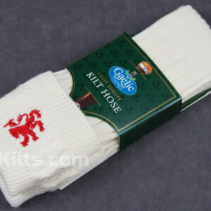 Check out our Scottish Embroided Kilt Hose Socks for sale.