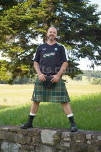 Have a look at our casual traditional Scottish kilt for sale.