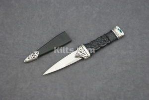 Check out our Shamrock Dress Sgian Dubh (Shamrock Kilt Knife)