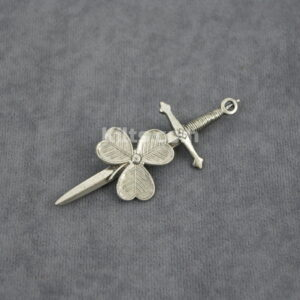Check out our Shamrock Kilt Pin for Irish kilts.