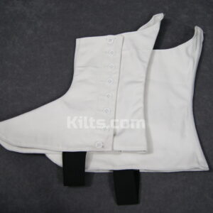 Check out our Scottish Kilt Spats and Piper Spats for Sale.