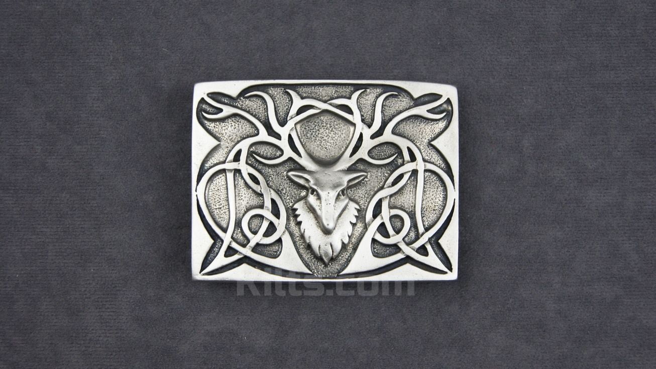 Check out our Stag Head Kilt Belt Buckle for sale.
