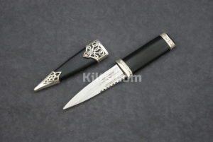 Looking for a Sterling Silver Dress Sgian Dubh (Sterling Silver Kilt Knife)?