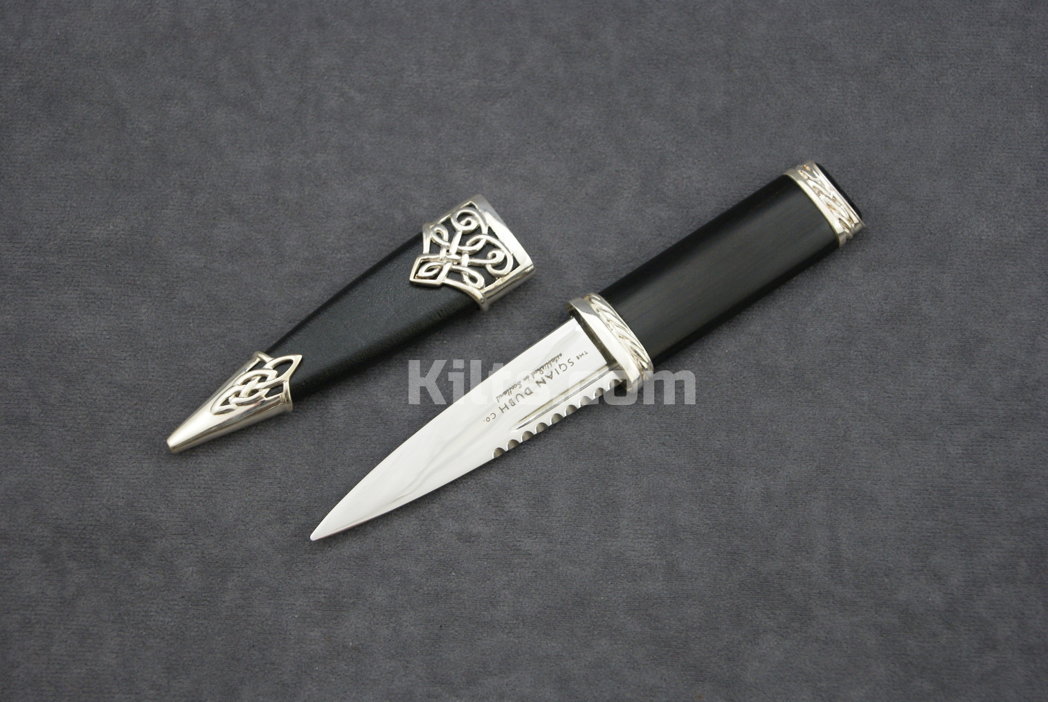 Looking for a Sterling Silver Dress Sgian Dubh (Sterling Silver Kilt Knife)?