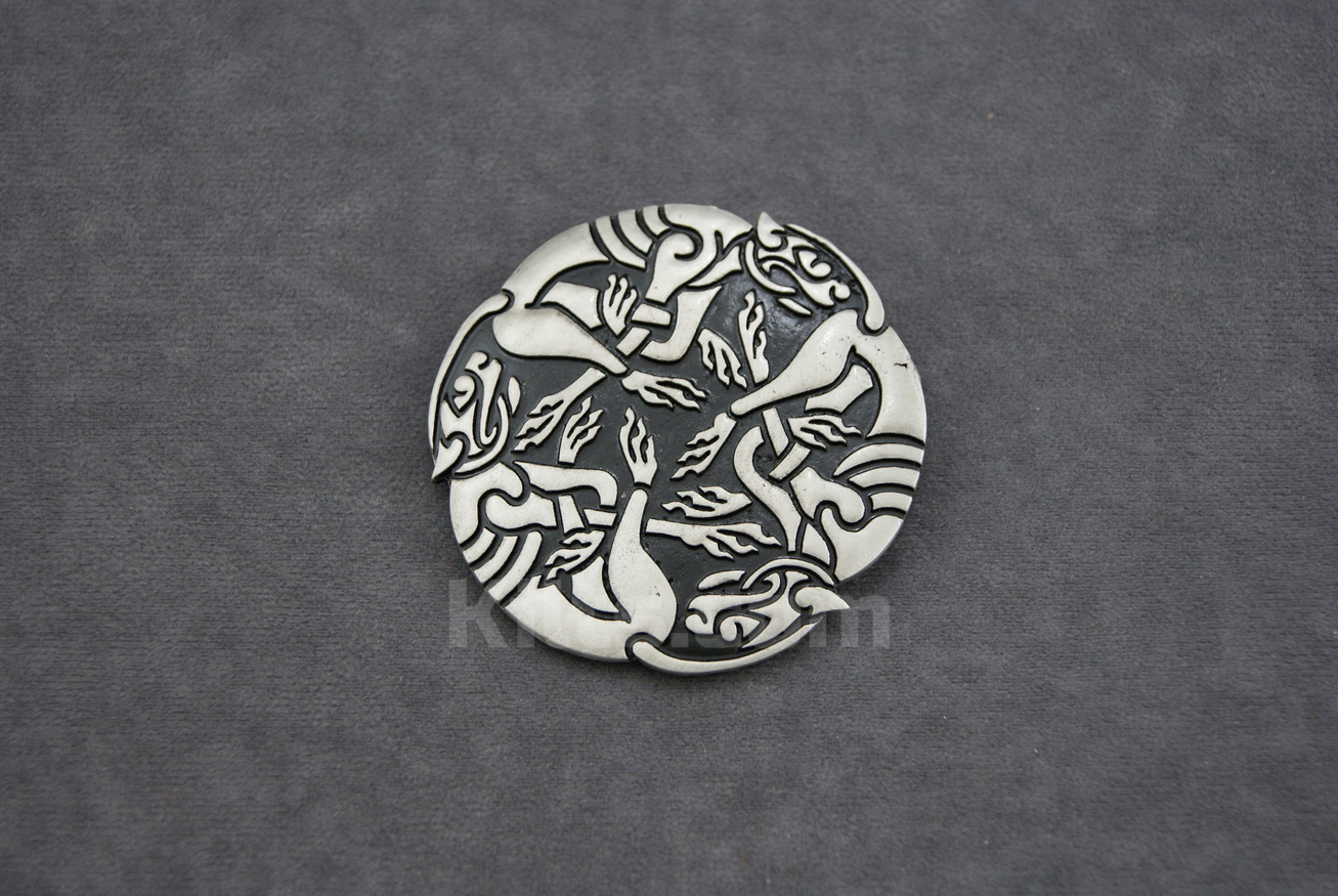 Check out our Three Dogs Circle Belt Buckle for sale.