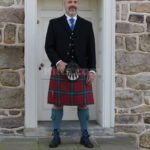 Have a look at our Wallace Jacket and Vest for sale. Perfect for kilt outfits.