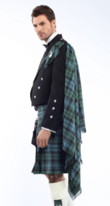 Here is our unique tartan fly plaid for sale.