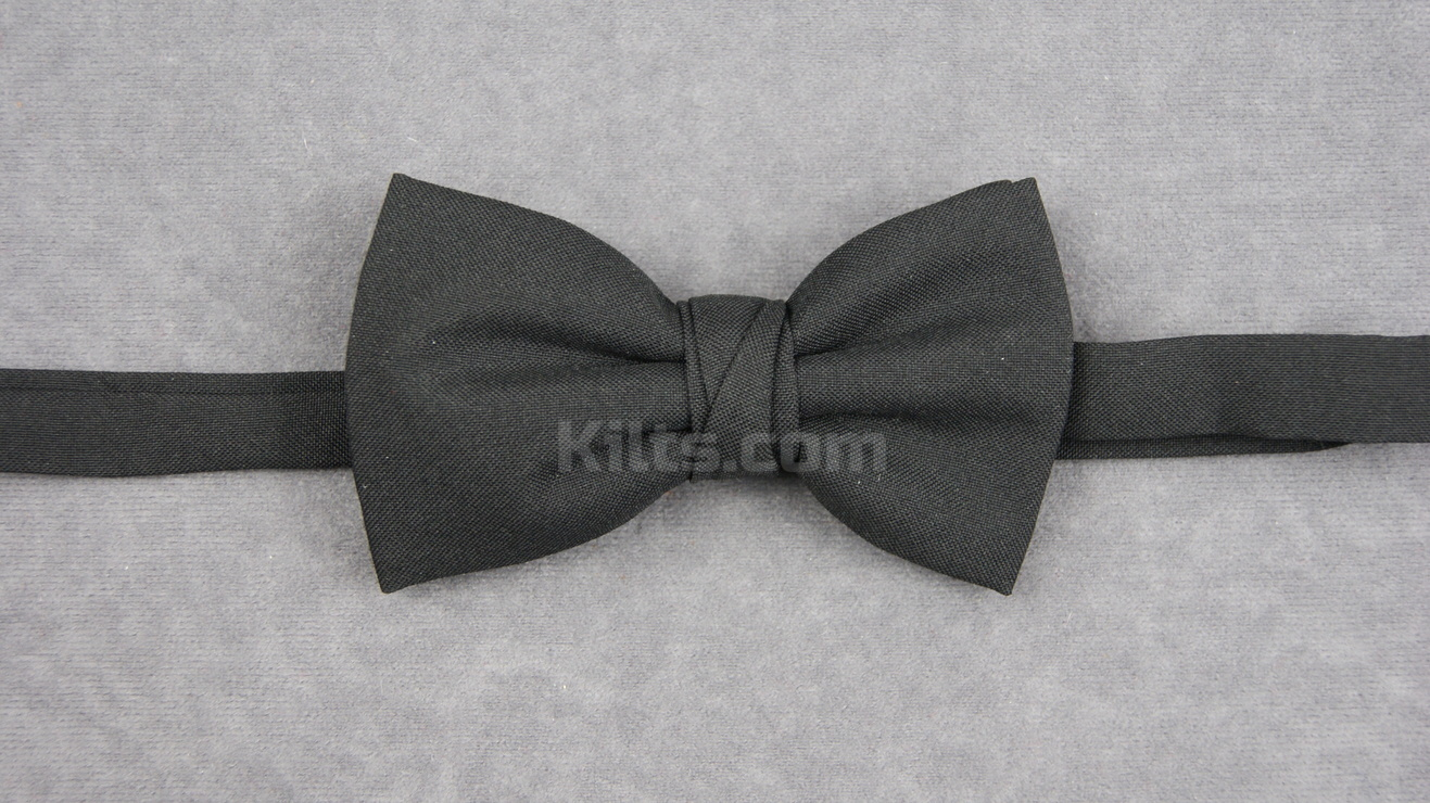 Looking for a Black Bowtie for kilts?