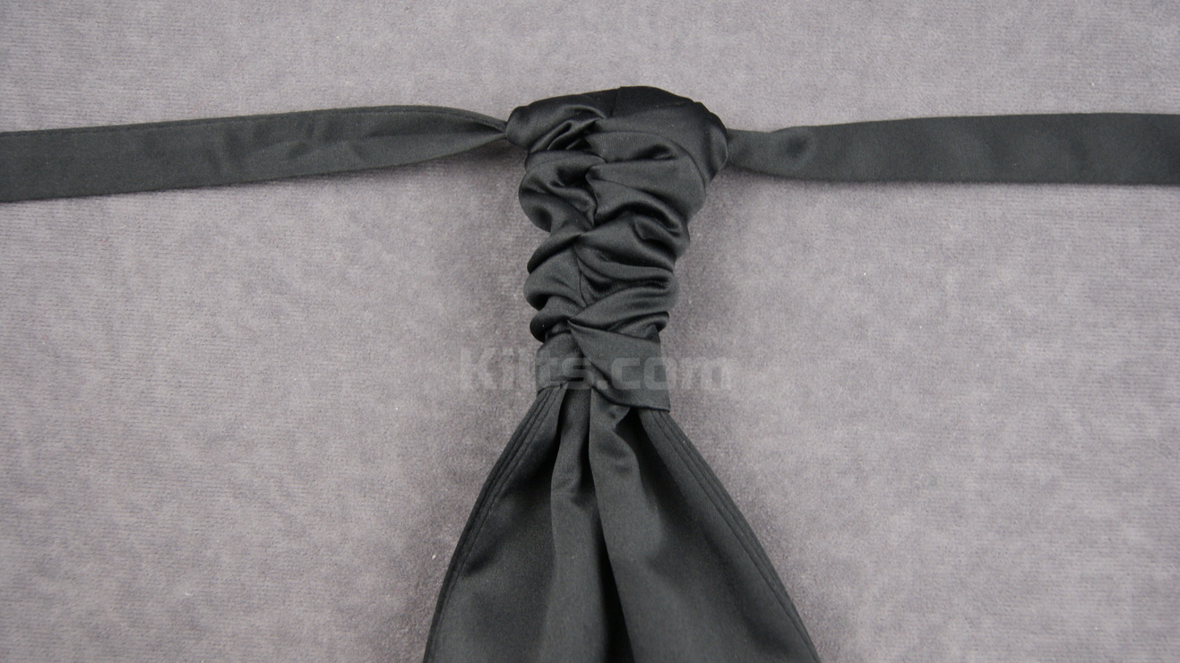 Looking for a black Ruche Tie for sale?