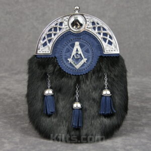 Check out our Blue Masonic Dress Sporran for sale.