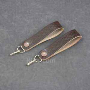 View our Brown Sporran Hanger for sale. Kilt Pouch Hanger.