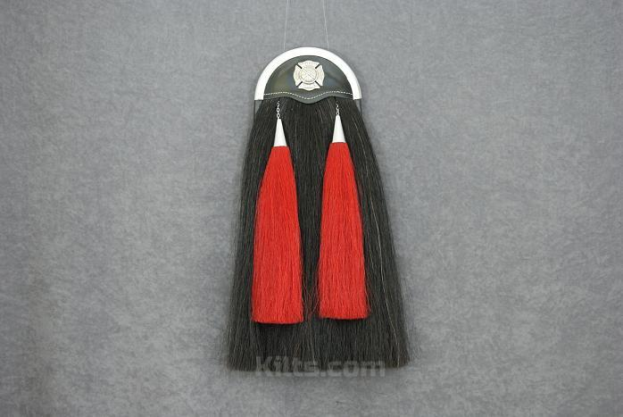 View our Firefighter Horsehair Sporran for sale.