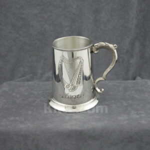 View our Irish Harp Slainte Tankard for sale.