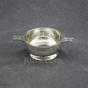 View our Cross Knotwork Quaich for sale. This is the best quaich for weddings and house warming.