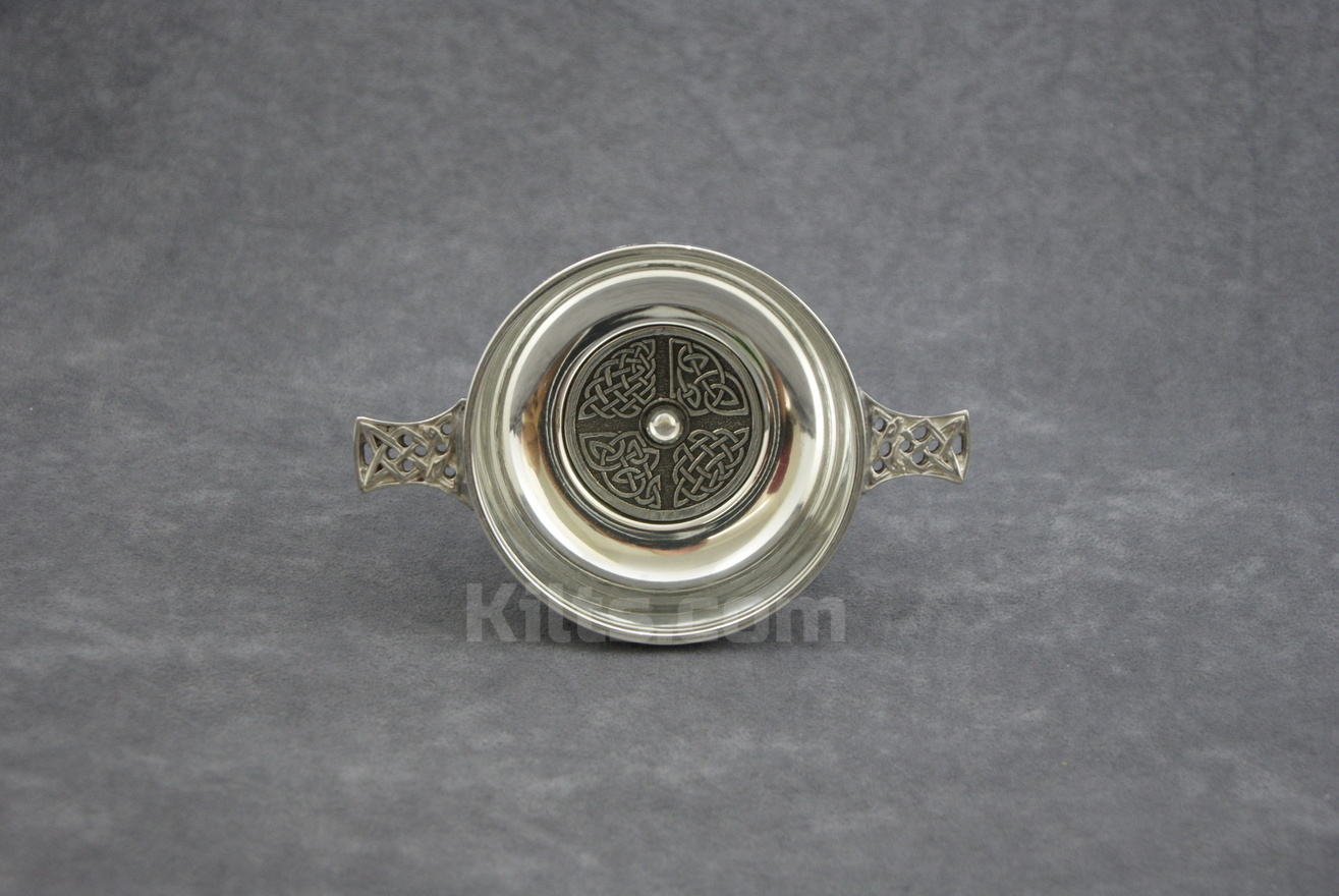 View our Cross Knotwork Quaich for weddings for sale.