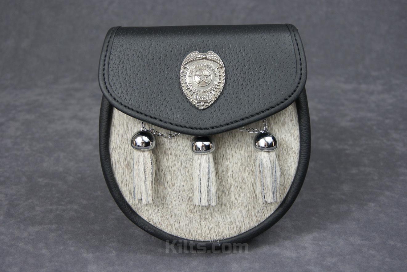 Check out our Law Enforcement Semi Dress Sporran for sale.