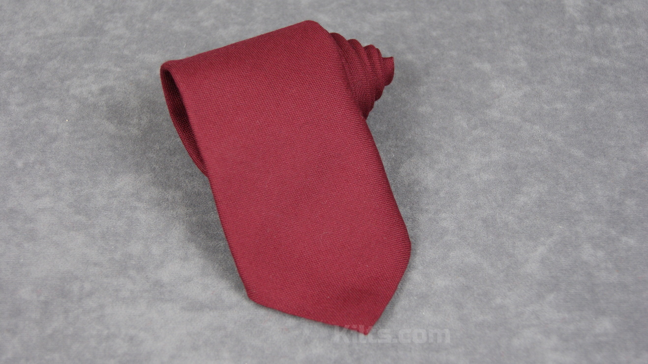 Here is our Maroon Necktie for sale.