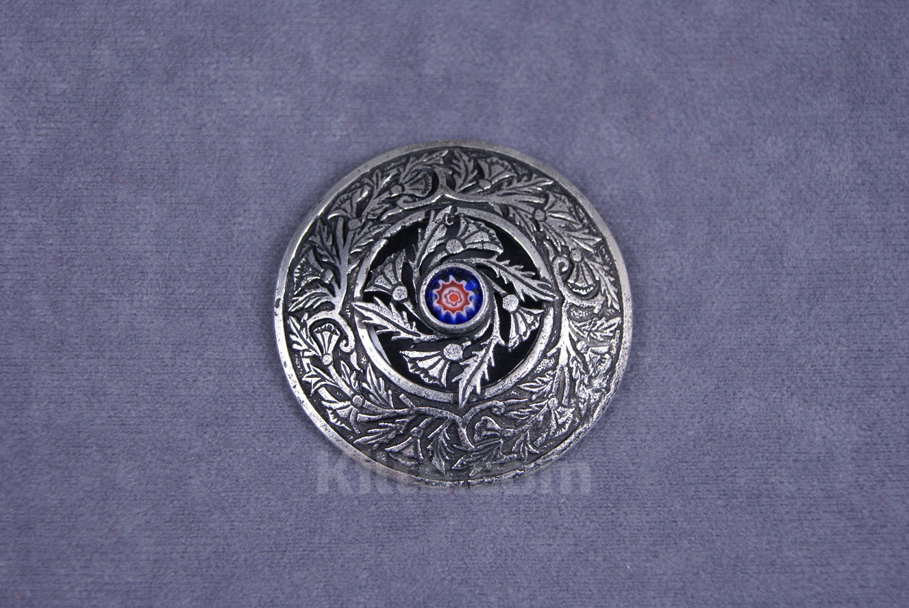 View our Millefiori Ladies Brooch for sashs & shawls for sale.