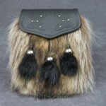 Our Raccoon Semi Dress Sporran for sale is a really different kilt pouch!