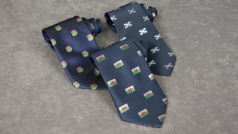 Looking for Scottish and Welsh Neckties for sale?