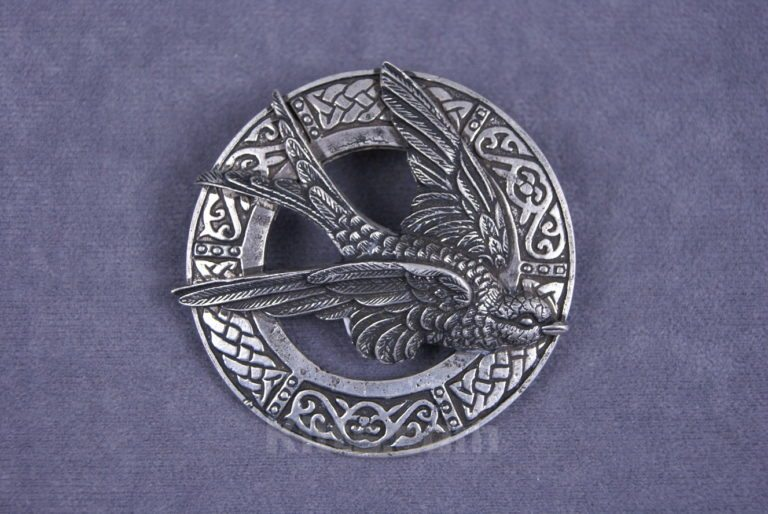 View our Swallow Ladies Brooch for sashs and shawls for sale.