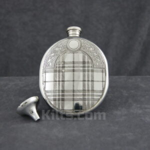View our Tartan Sporran Flask. This is the best sporran hip flask for sale.