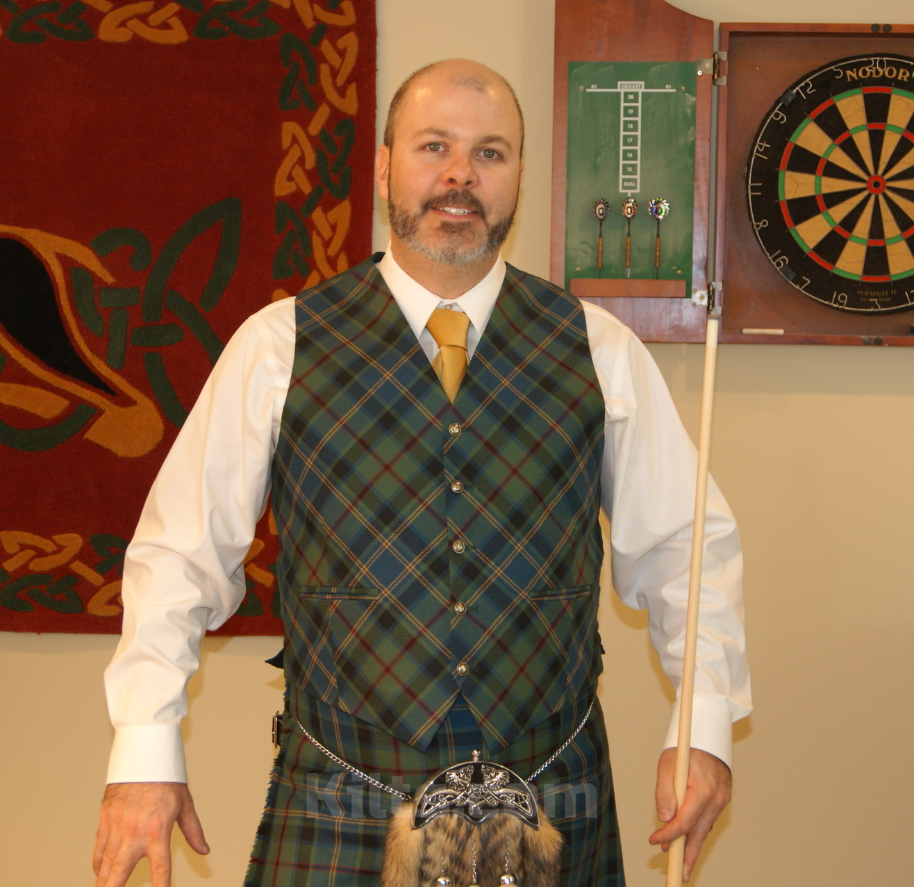 Check out our Tartan Vest for sale. The perfect tartan waistcoat for your kilt.