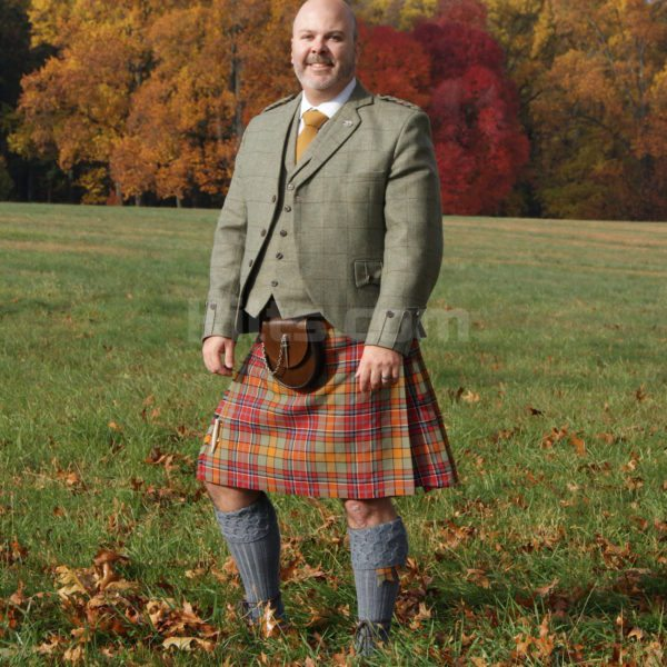 View our Tweed Jacket for sale. An excellent Scottish Tweed Kilt Jacket.