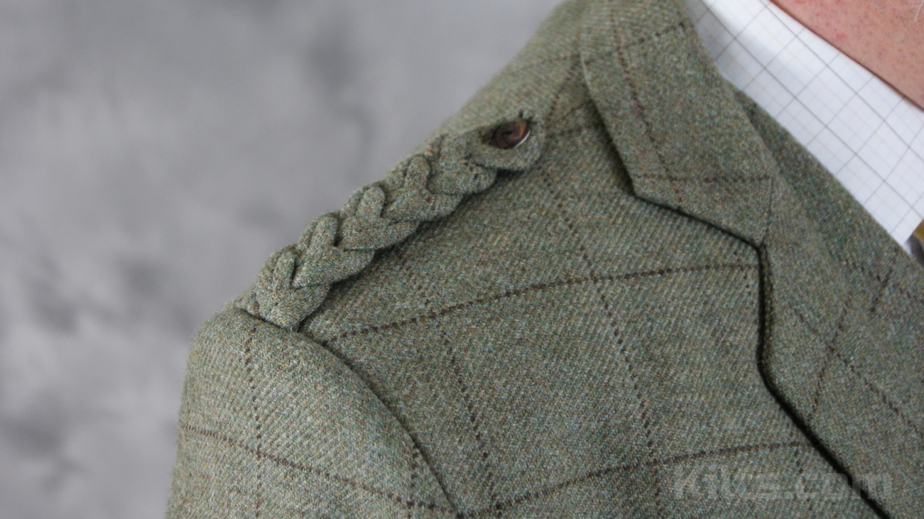View our Tweed Scottish Kilt Jacket for sale.