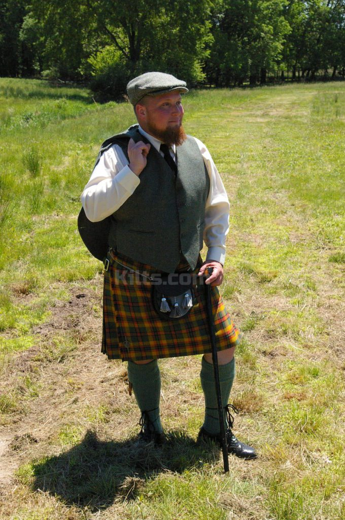 Check out our Scottish Tweed Vest for sale for kilts.