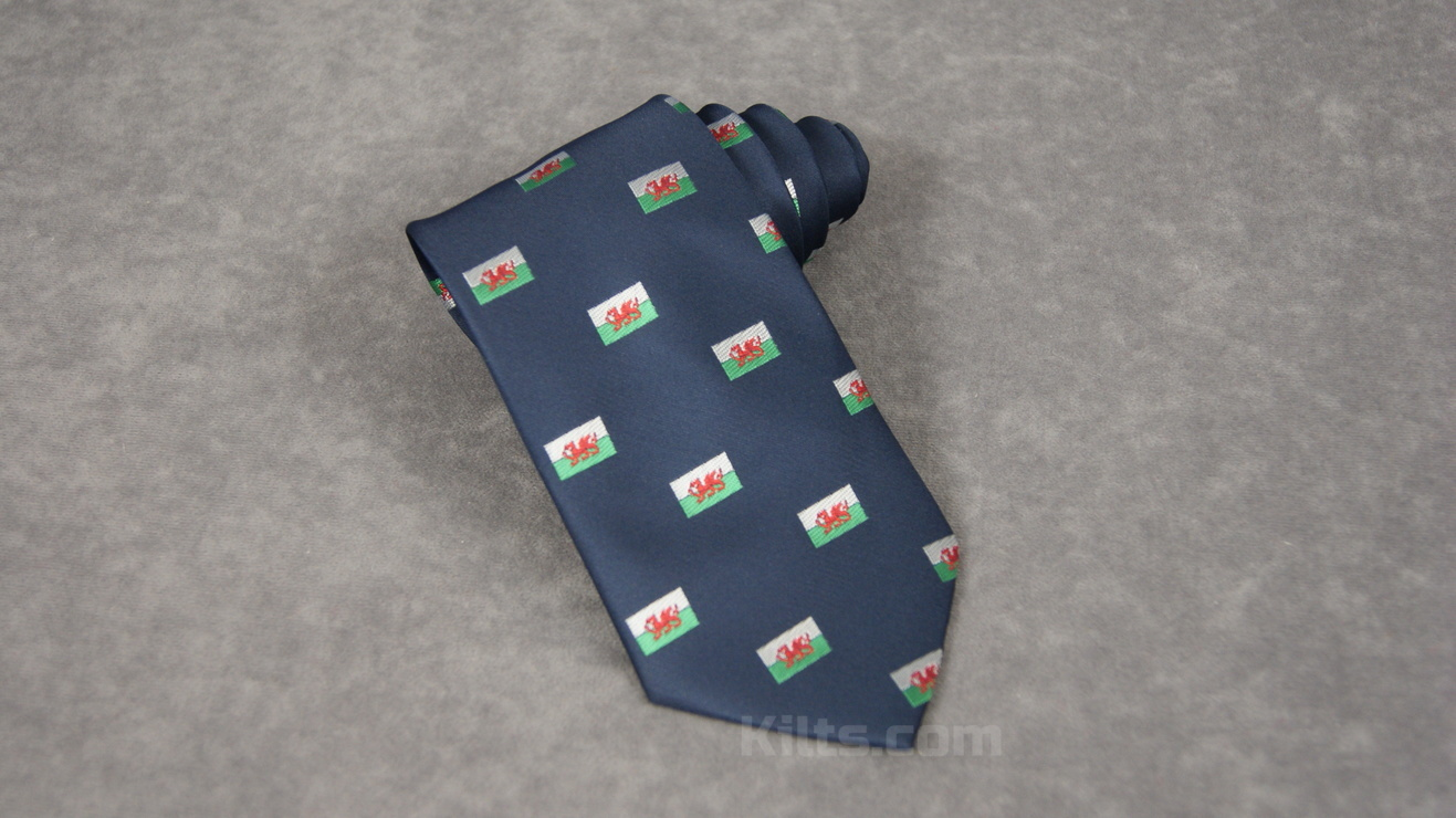 Looking for a Welsh Flag Necktie for sale?