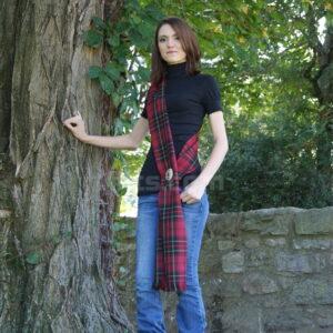 View our Woolen Women's Tartan Sash for sale.