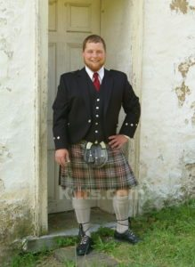 Here is an example of our 8 Yard Kilt