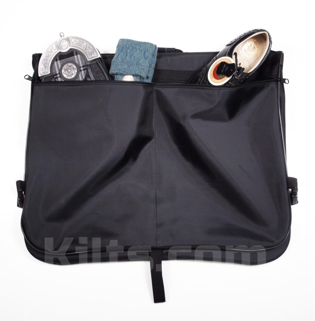 Use a kilt carrier to protect your kilt.