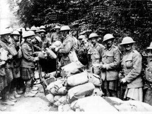 Black Watch in 1918