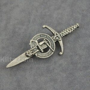 What about a Scottish Clan Kilt Pin to complete the look?
