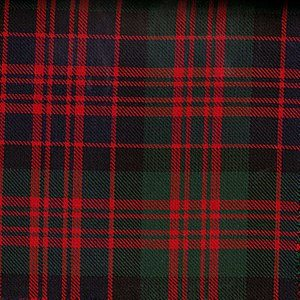 Here is an example of a modern tartan