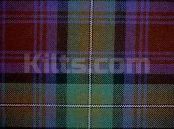 What tartan can I wear? This is the Isle of Skye ancient tartan.