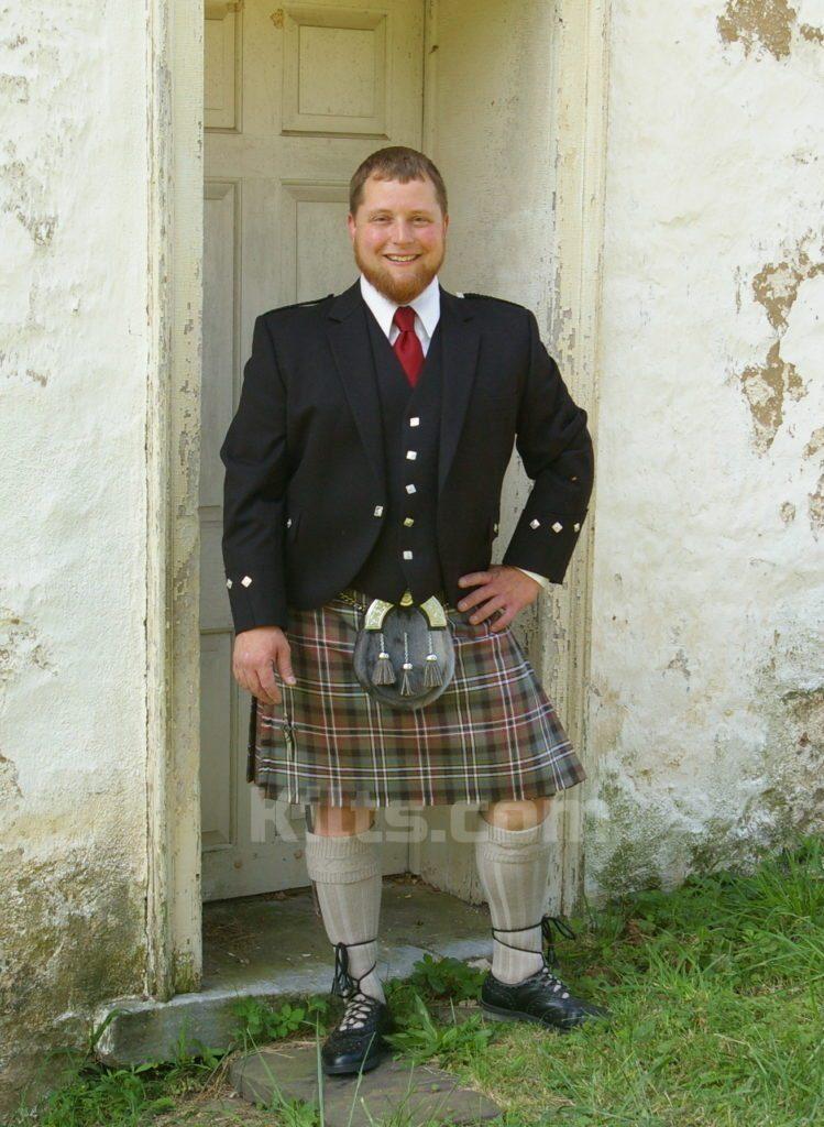 8 yardas falda escocesa en venta